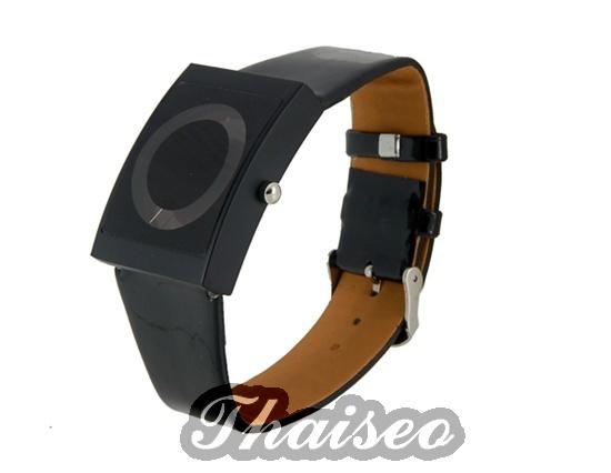 trendige schwarze digital damen armbanduhr top modisches. Black Bedroom Furniture Sets. Home Design Ideas